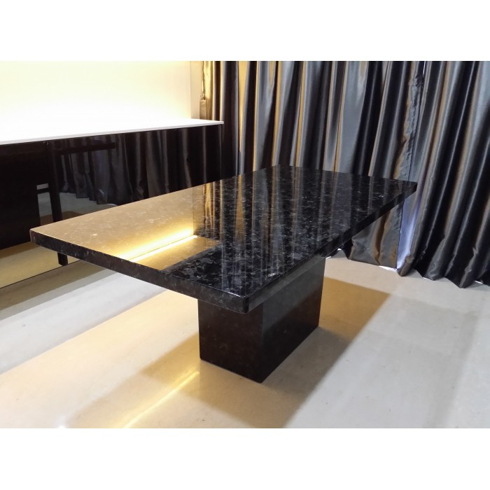 Kazakhstan Blue Marble Table