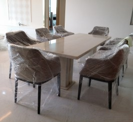 Rosa Portugallo Marble Table