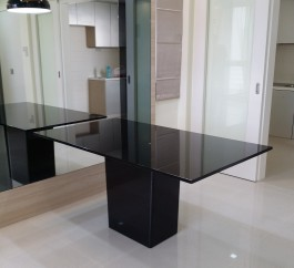 Black Granite Dining Table