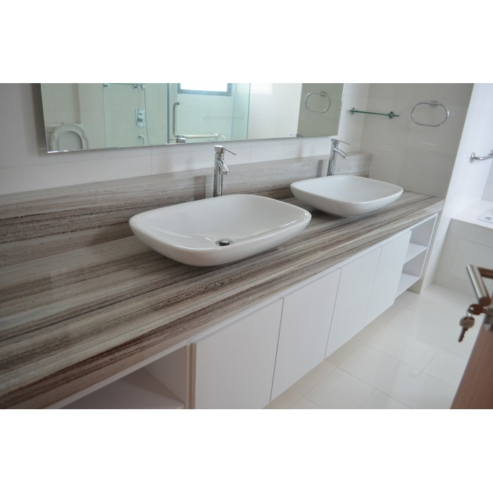 solid top vanity surface