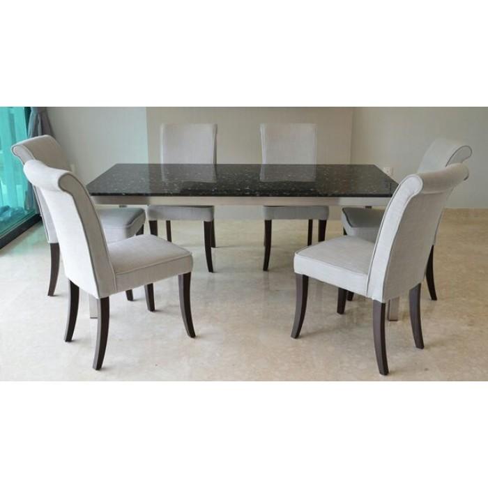 Norwegians Blue Pearl Granite Table