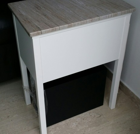 Display Console Marble Table