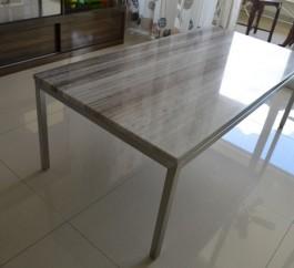 Zebran Cream Marble Coffee Table