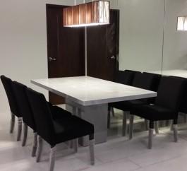 Italian Bianco Carrara Marble Table