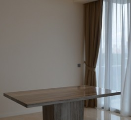 6 Seater Zebrano Venato Marble Table