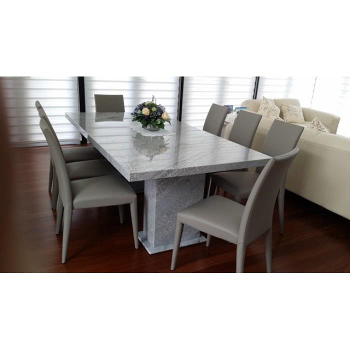 Tropical Grey Granite Dining Table