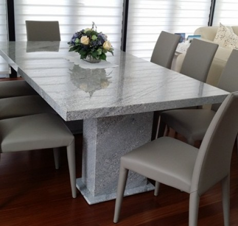 Tropical Grey Granite Dining Table